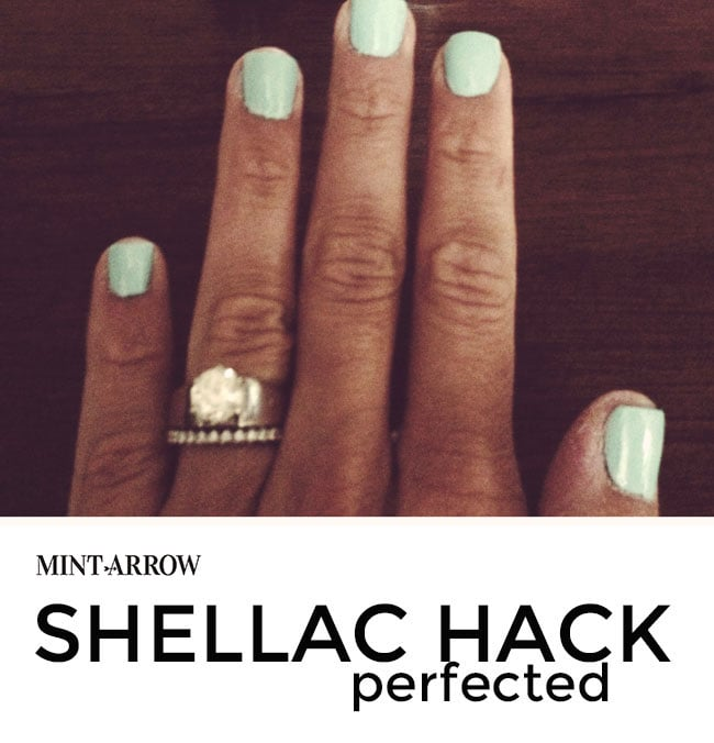 How To Make Nail Polish Not Chip: Shellac Hack