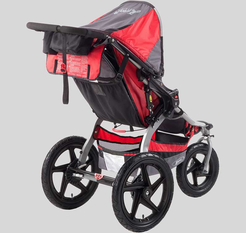 The seat itself is a breeze to switch out and the stroller is easily collapsible for more convenient storage. A lightweight baby stroller is easy to maneuver over sidewalks and trails on the four sturdy wheels.