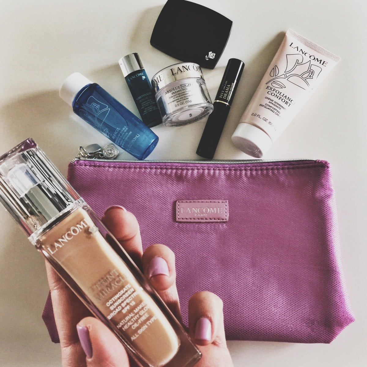 lancome free gift with $39.50 purchase AND triple points! - Mint Arrow