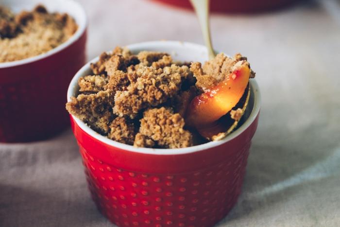 perfect peach crisp