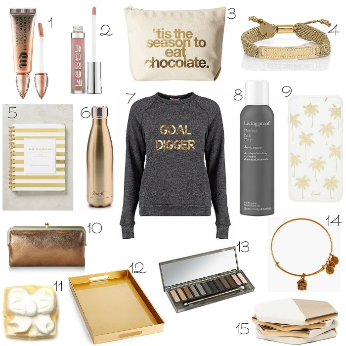 A girlfriends golden gift guide 15 perfect gifts for your besties the perfect little golden gifts for all your girlfriends this christmas negle Image collections
