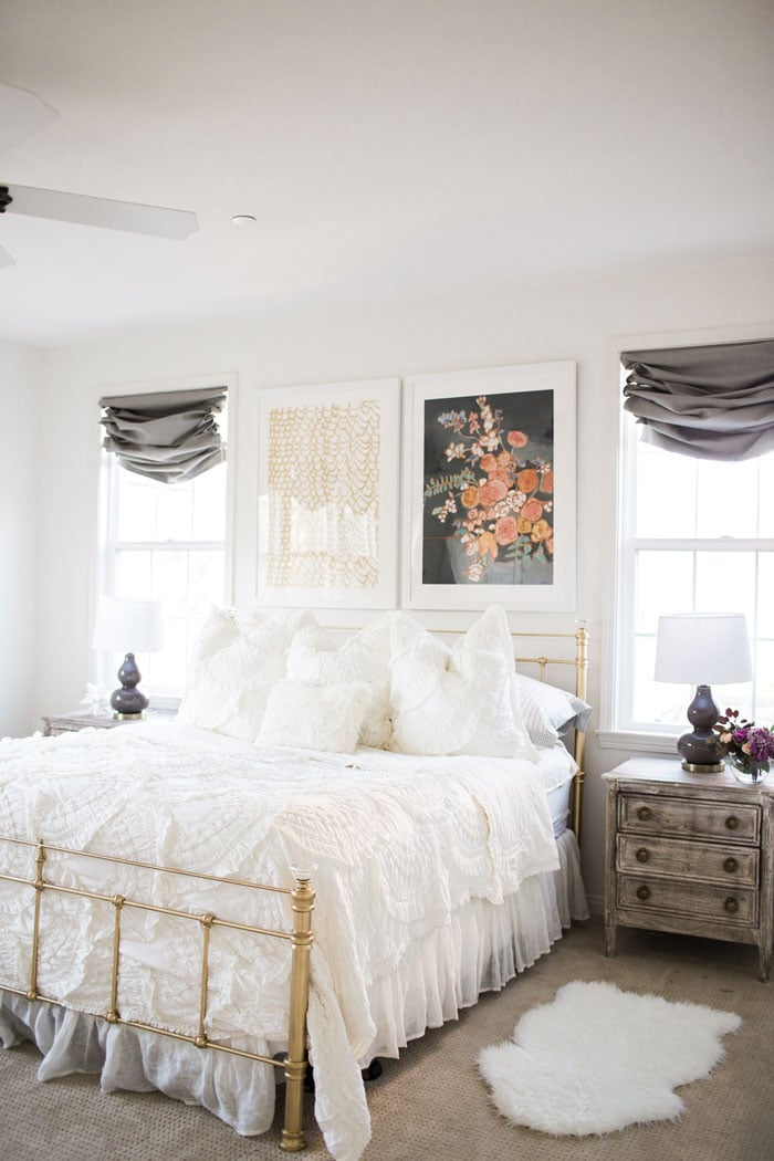 mint arrow master bedroom