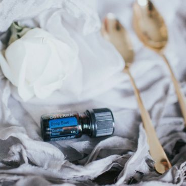doTERRA deep blue essential oil - AMAZING for after a workout or to support sore muscles!