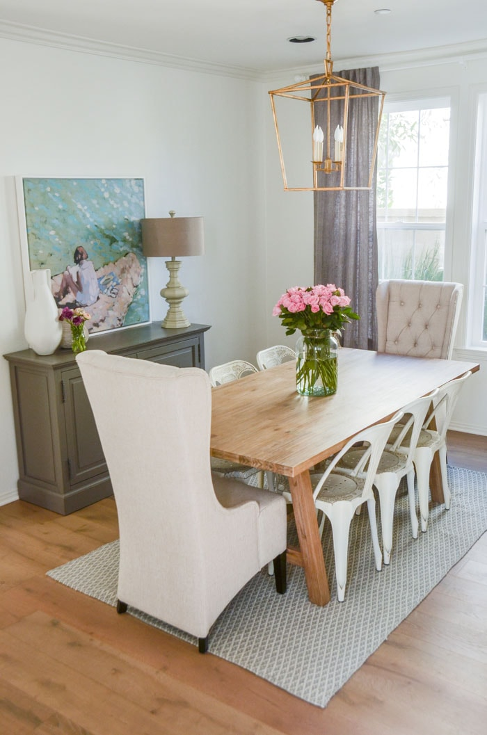 Our Eat In Kitchen Table Is Pretty Small And We Love Having Guests Over For  Dinner, So A Formal Dining Room Was The Final Decision.