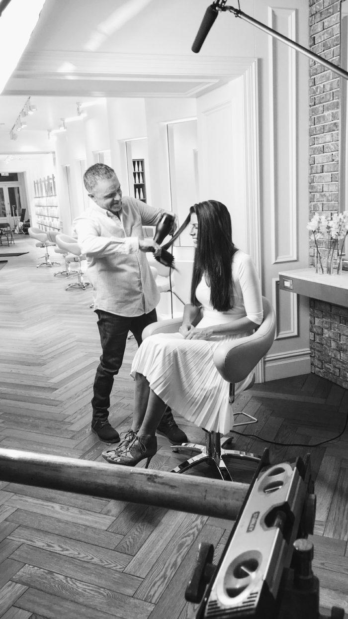nexxus new york salon with global creative director kevin mancuso