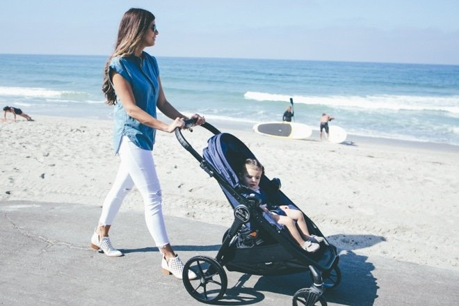 Giveaway And Review Of City Premier Stroller Mint Arrow