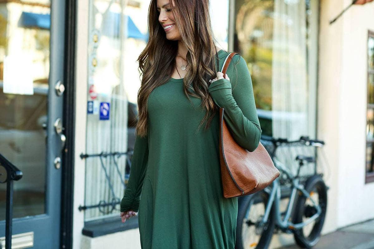 gap comfy dress