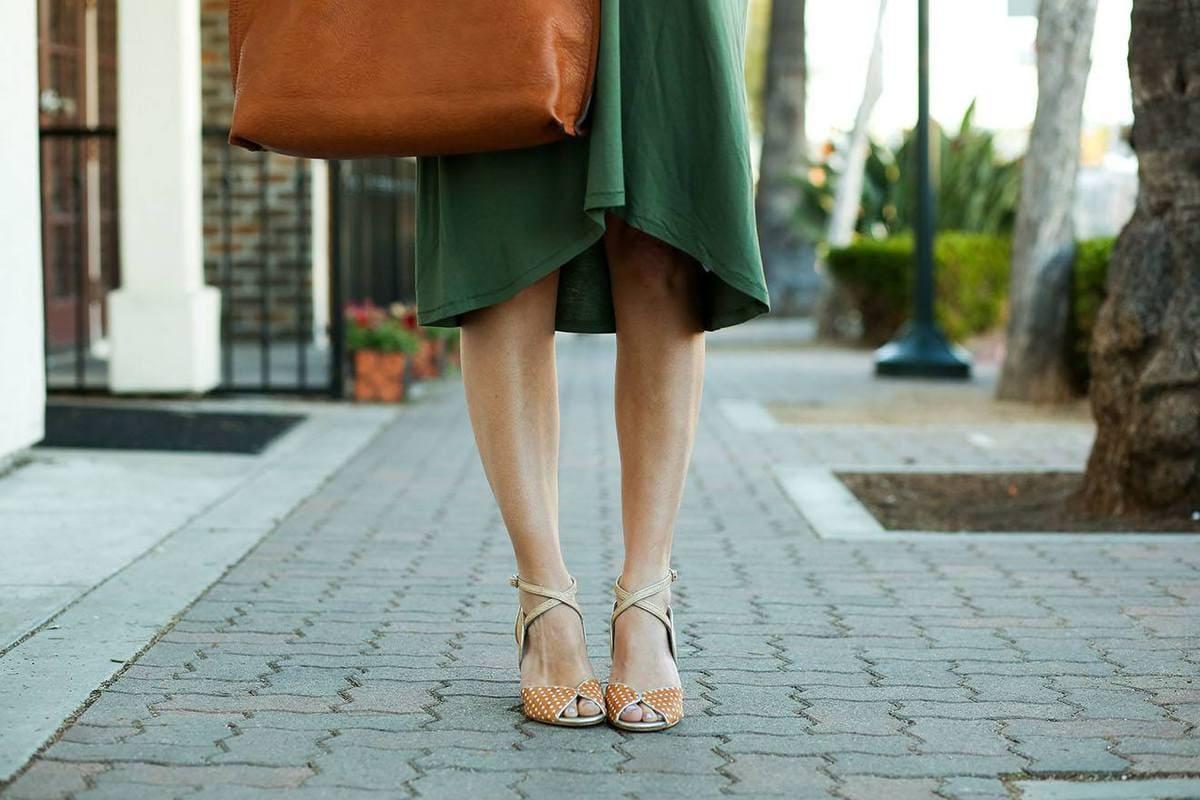 Anthro Polka Dot Shoes