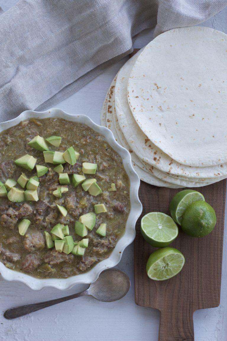 Chile Verde a bountiful kitchen