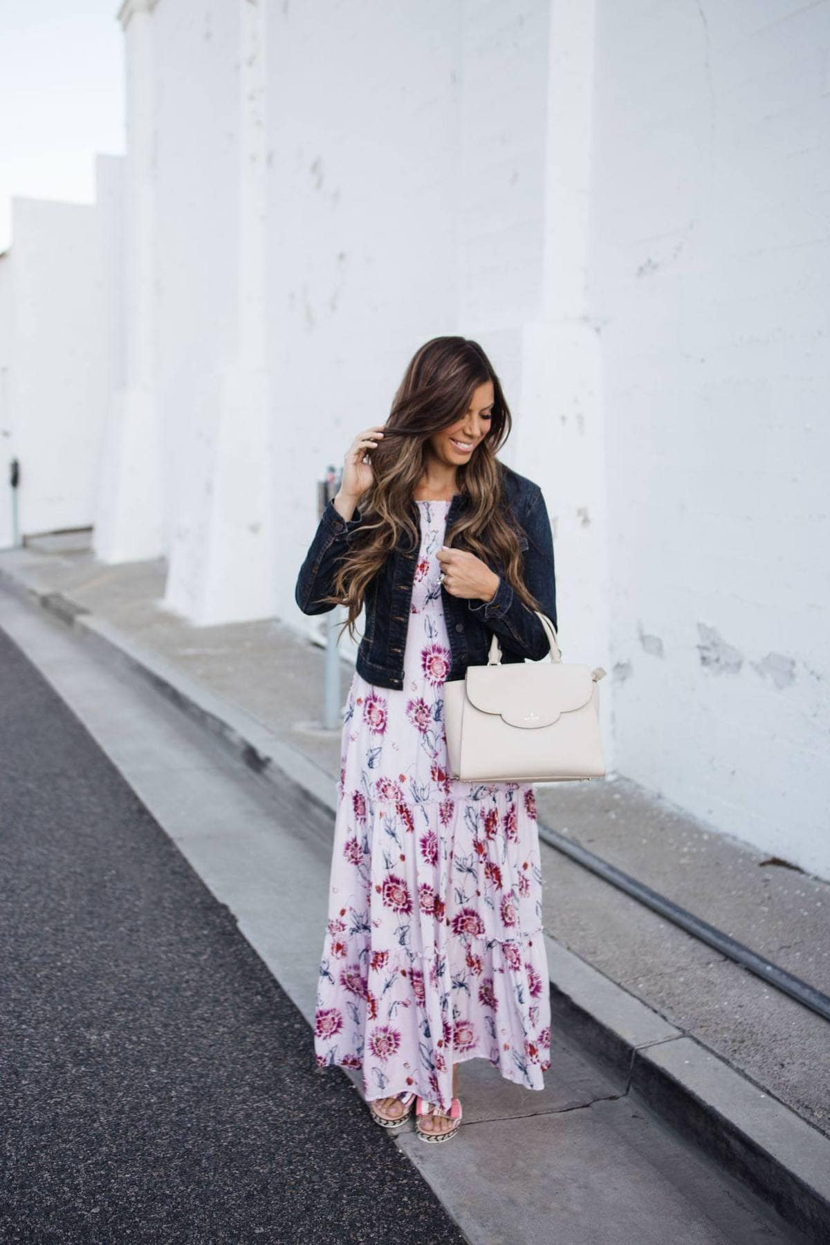 Two looks one dress maxi