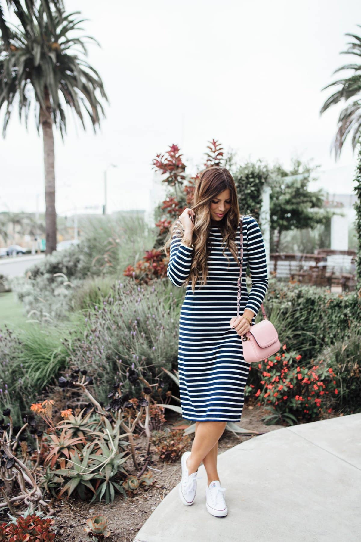 j.crew labor day sale striped dress