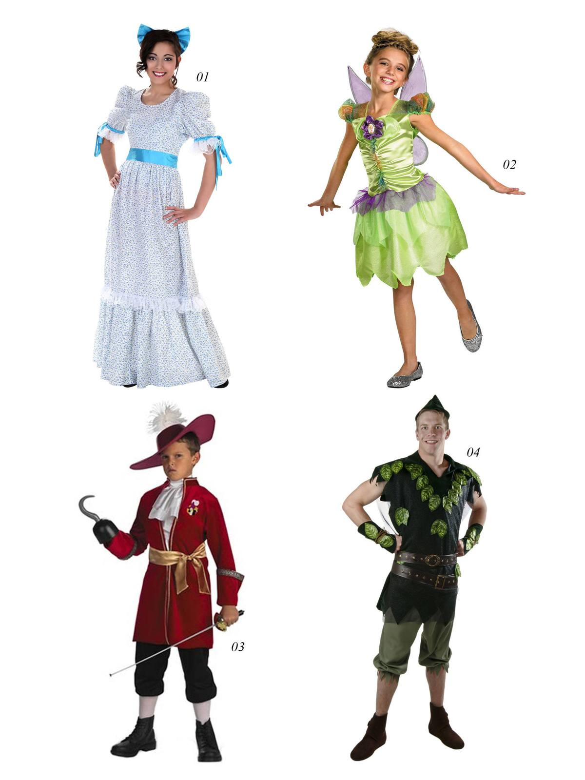 halloween costume peter pan