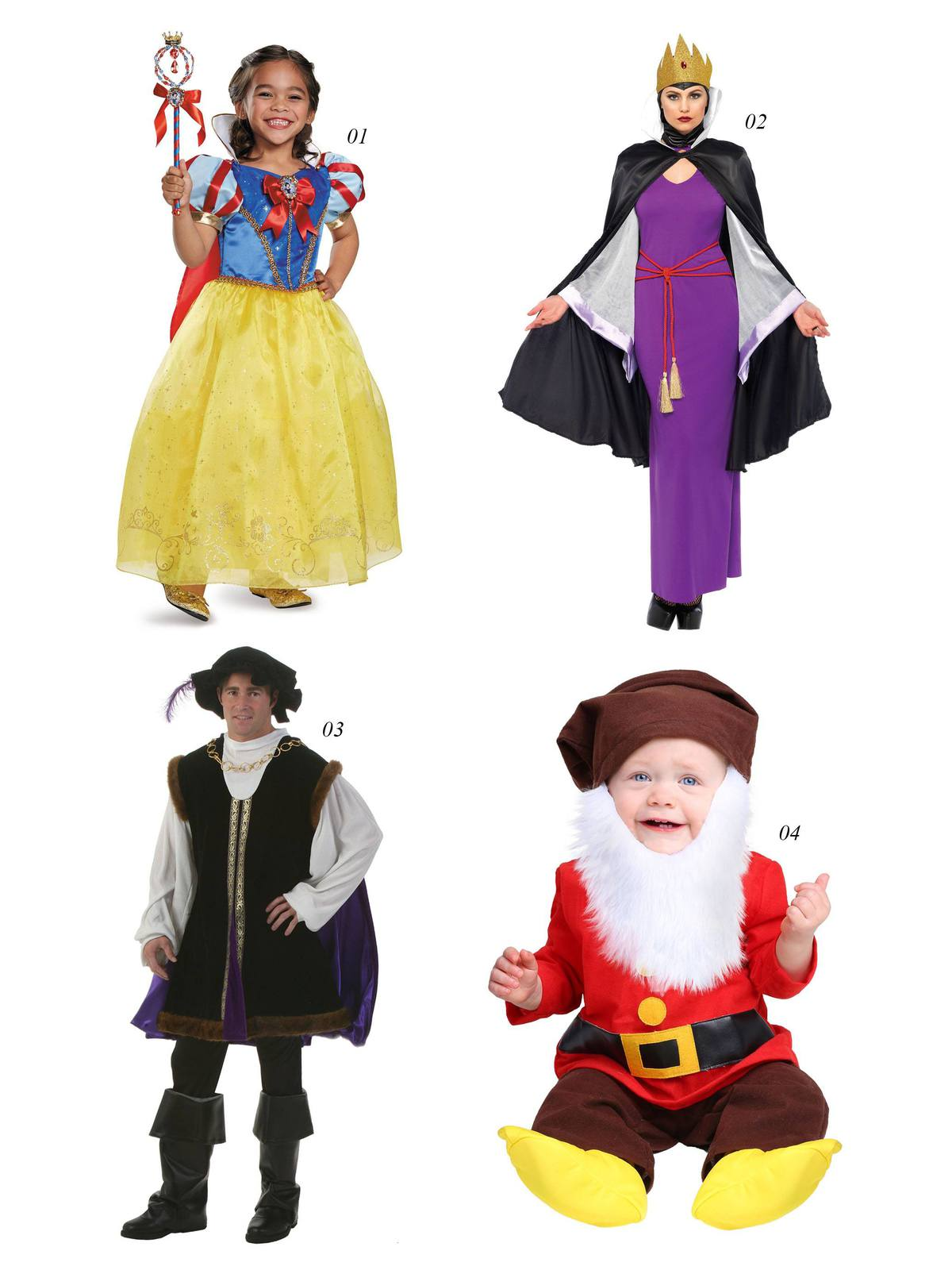 halloween costumes snow white seven dwarves