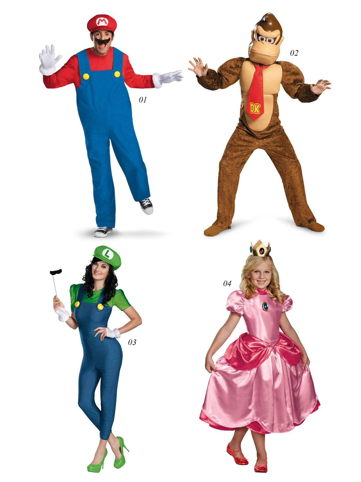halloween costumes super mario bros