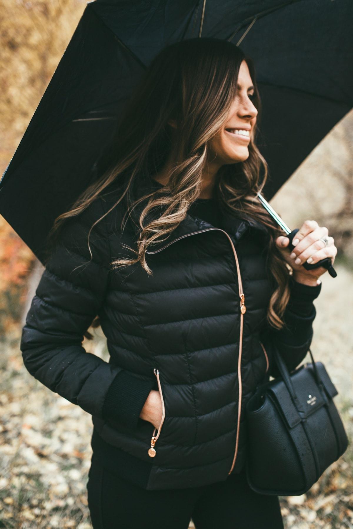 nordstrom fall black coat