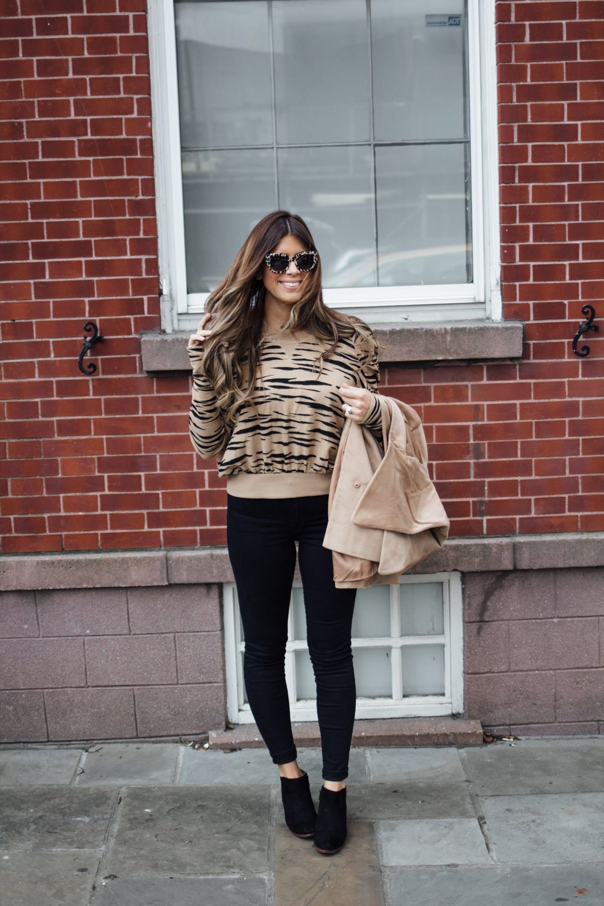 shopbop fall zebra sweater