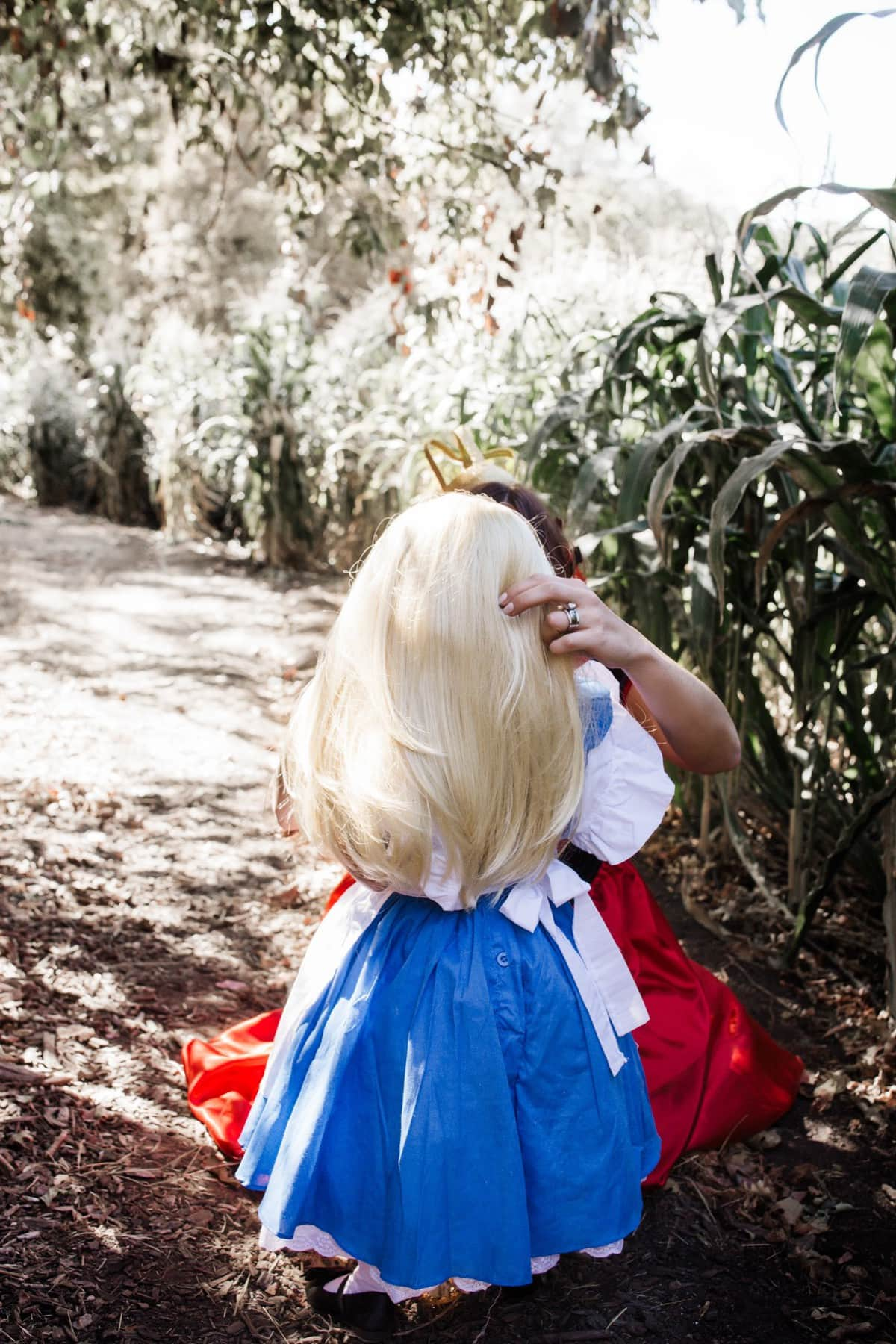 halloween alice in wonderland costume