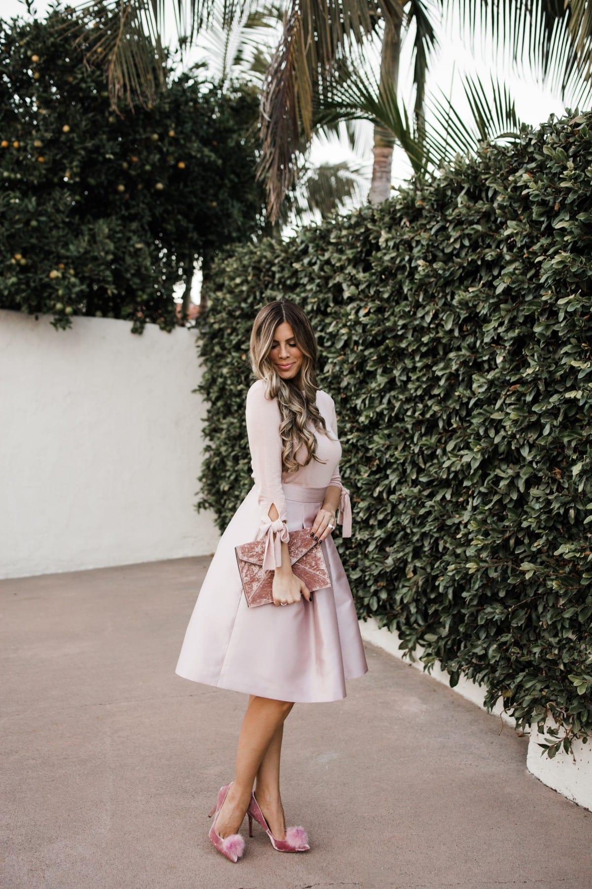 Blush skirt