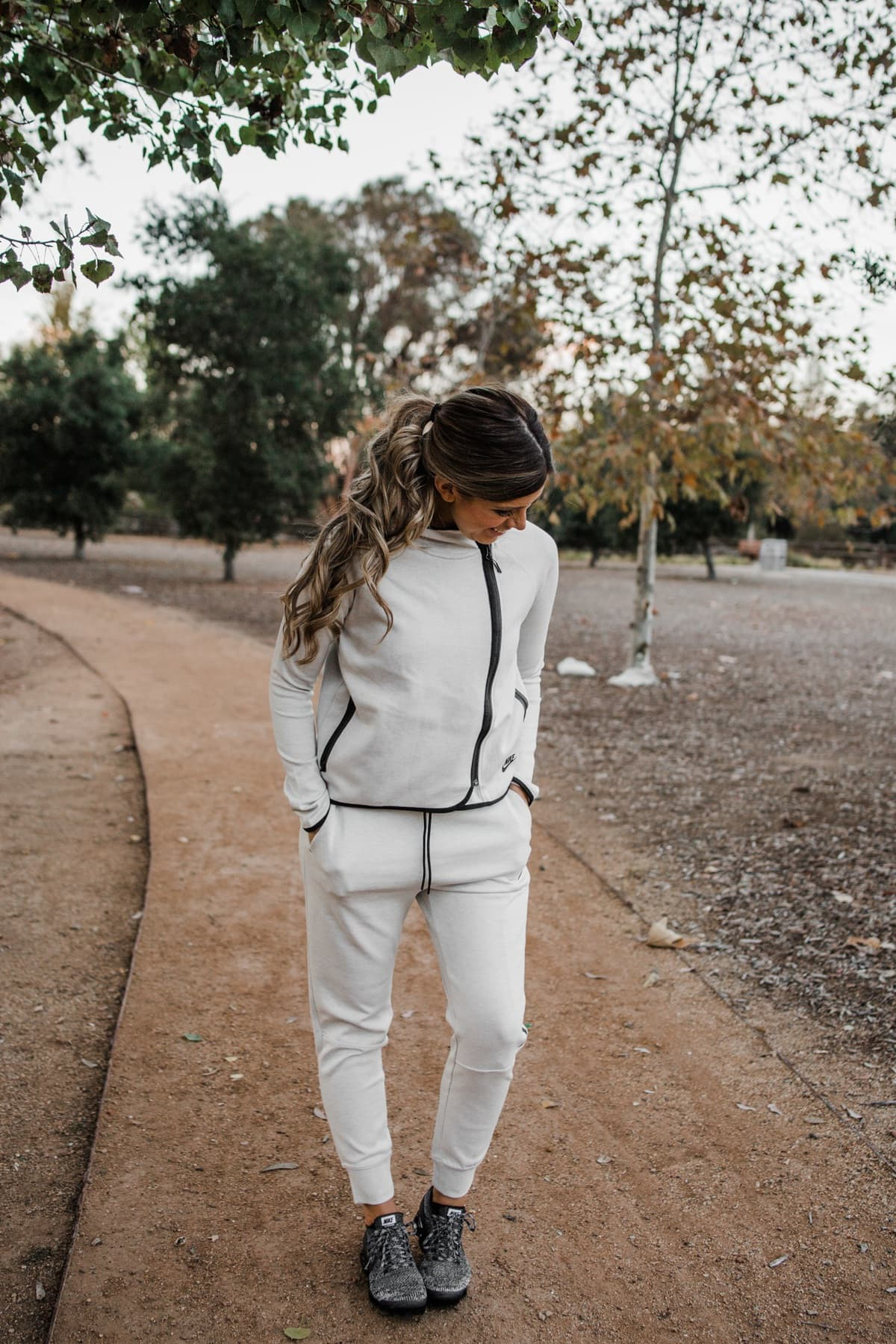 nike winter workout fleece jacket