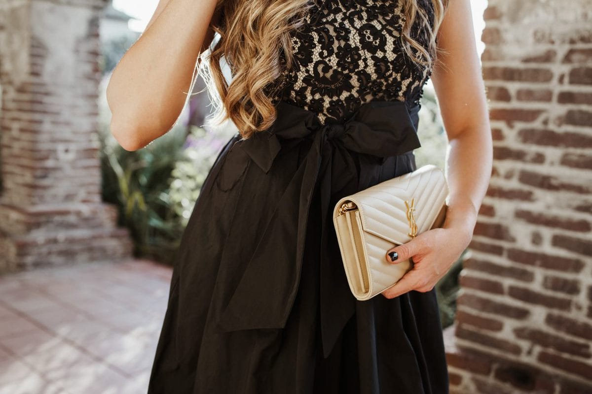 Nordstrom holiday black dress