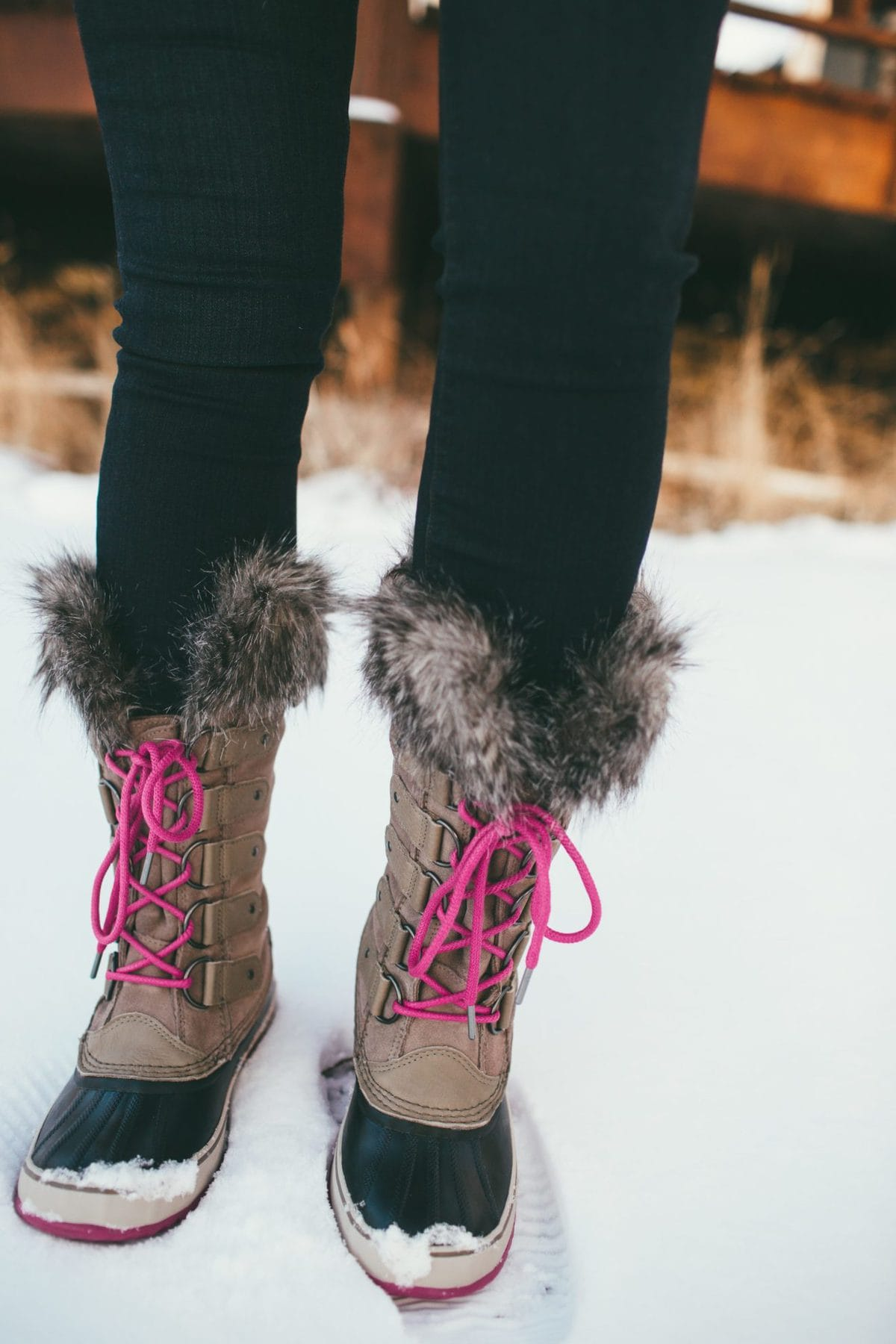 Cold weather boots