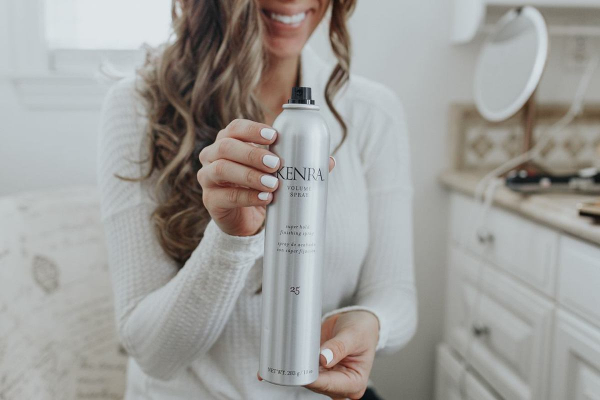 Macy's beauty look kenra hairspray
