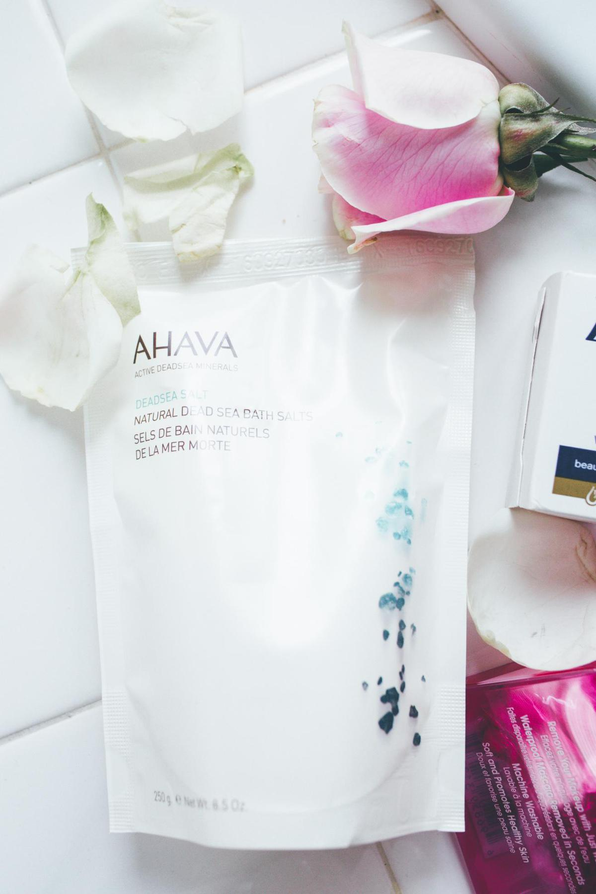 Safe Skincare product for pregnant Ahava Deadsea Salt