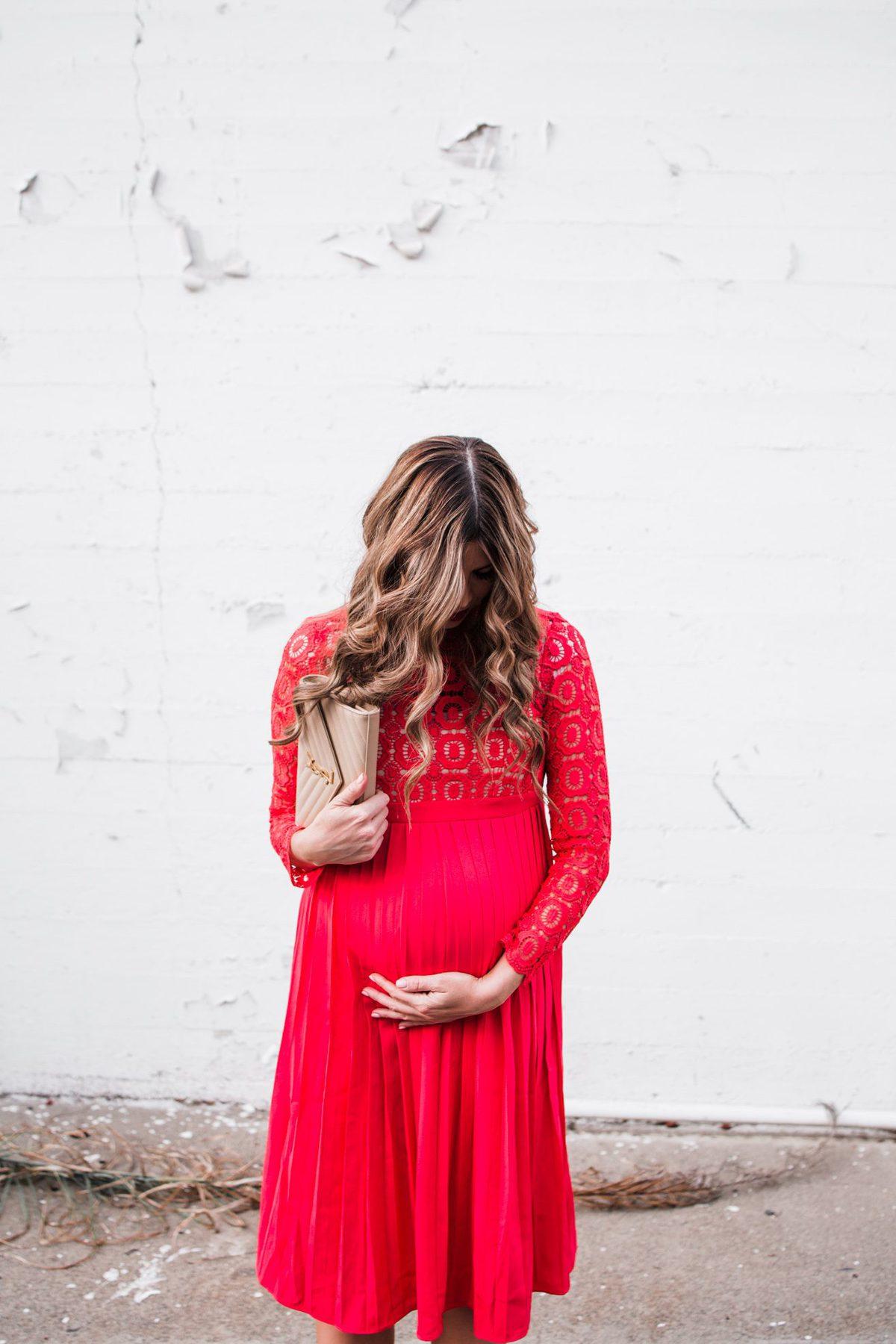 My favorite valentine red dress
