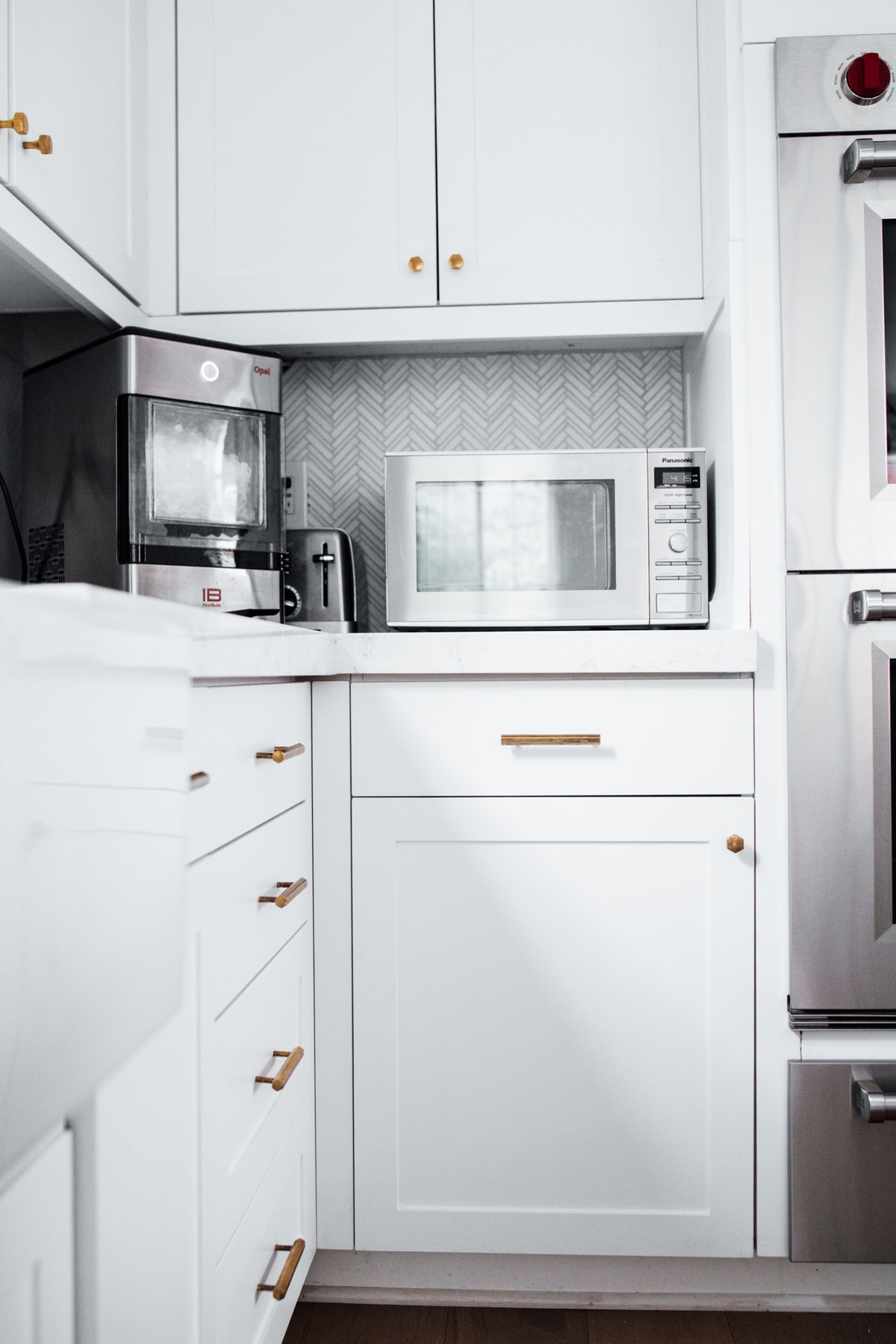 Kitchen Reveal! microwave