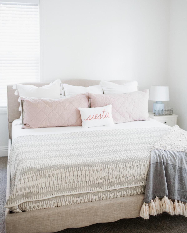 Cute guest room refresh ideas Decorative Pillow
