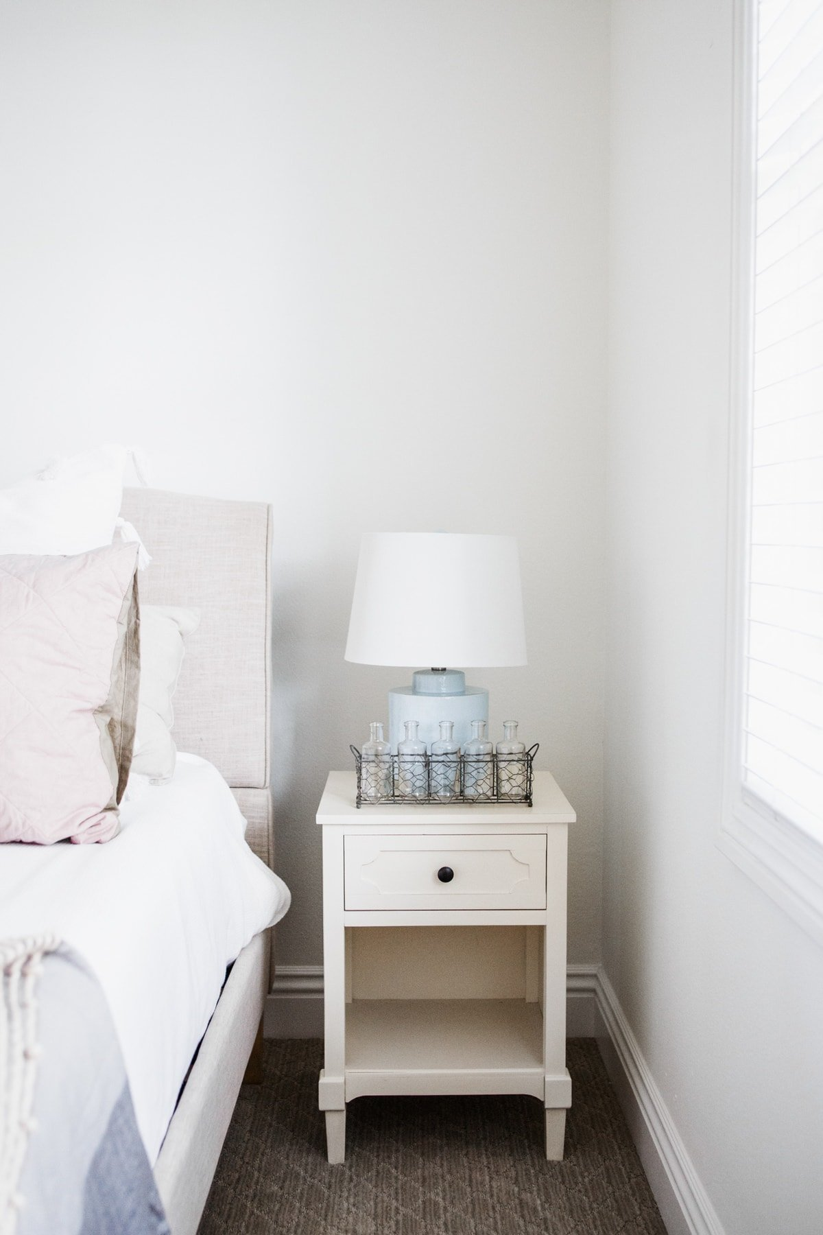 Cute guest room refresh ideas Brenna Side Table