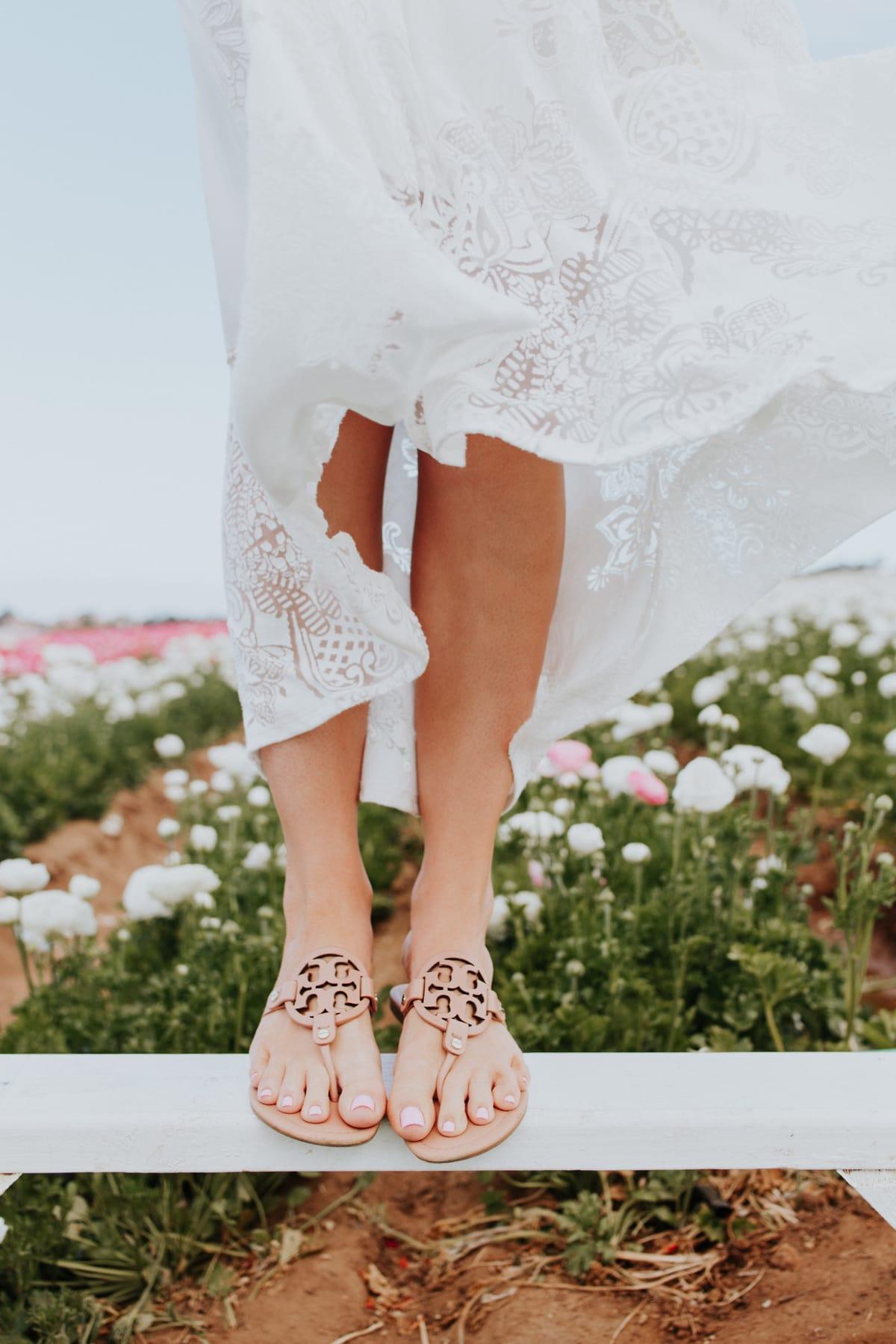 Summer Closet Staples tory burch miller sandals