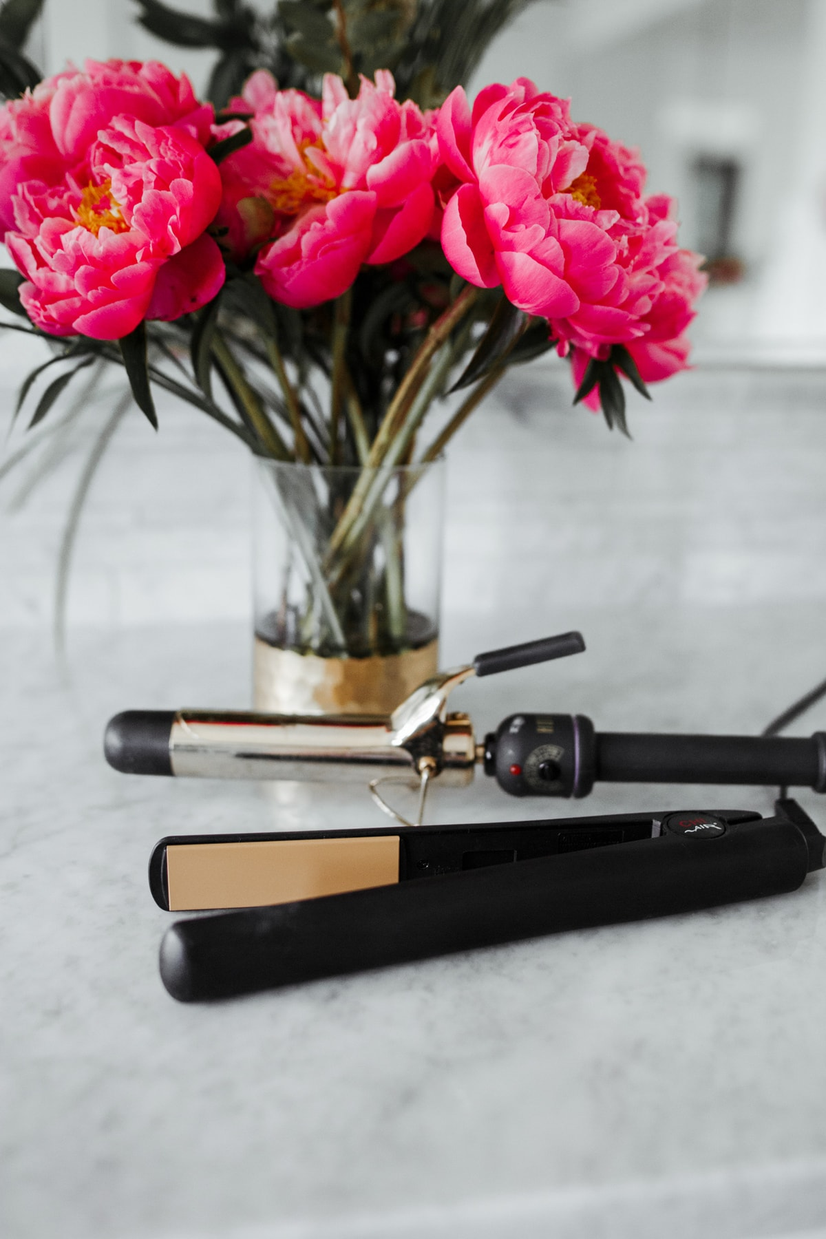 Best Gift for mother's day Gold Curling Iron