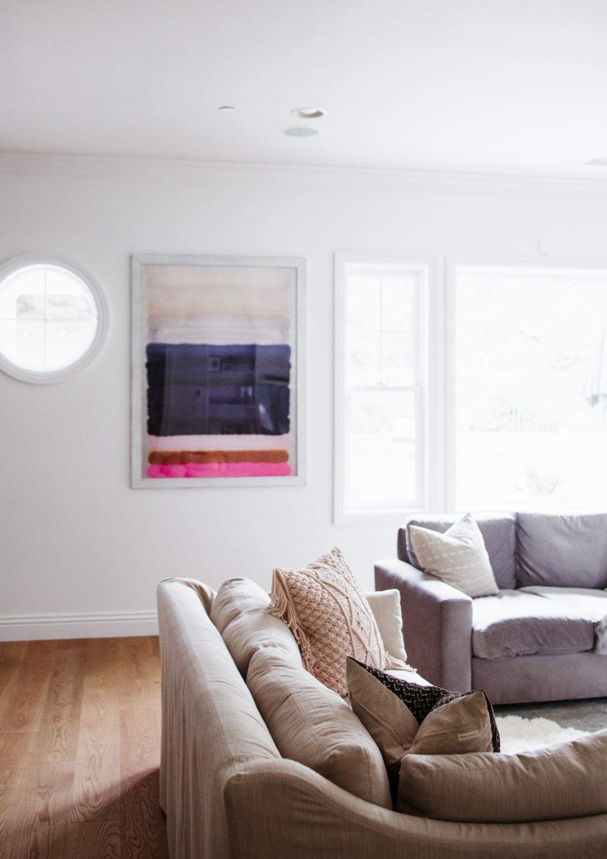 Home tour: small family room updates Art Print