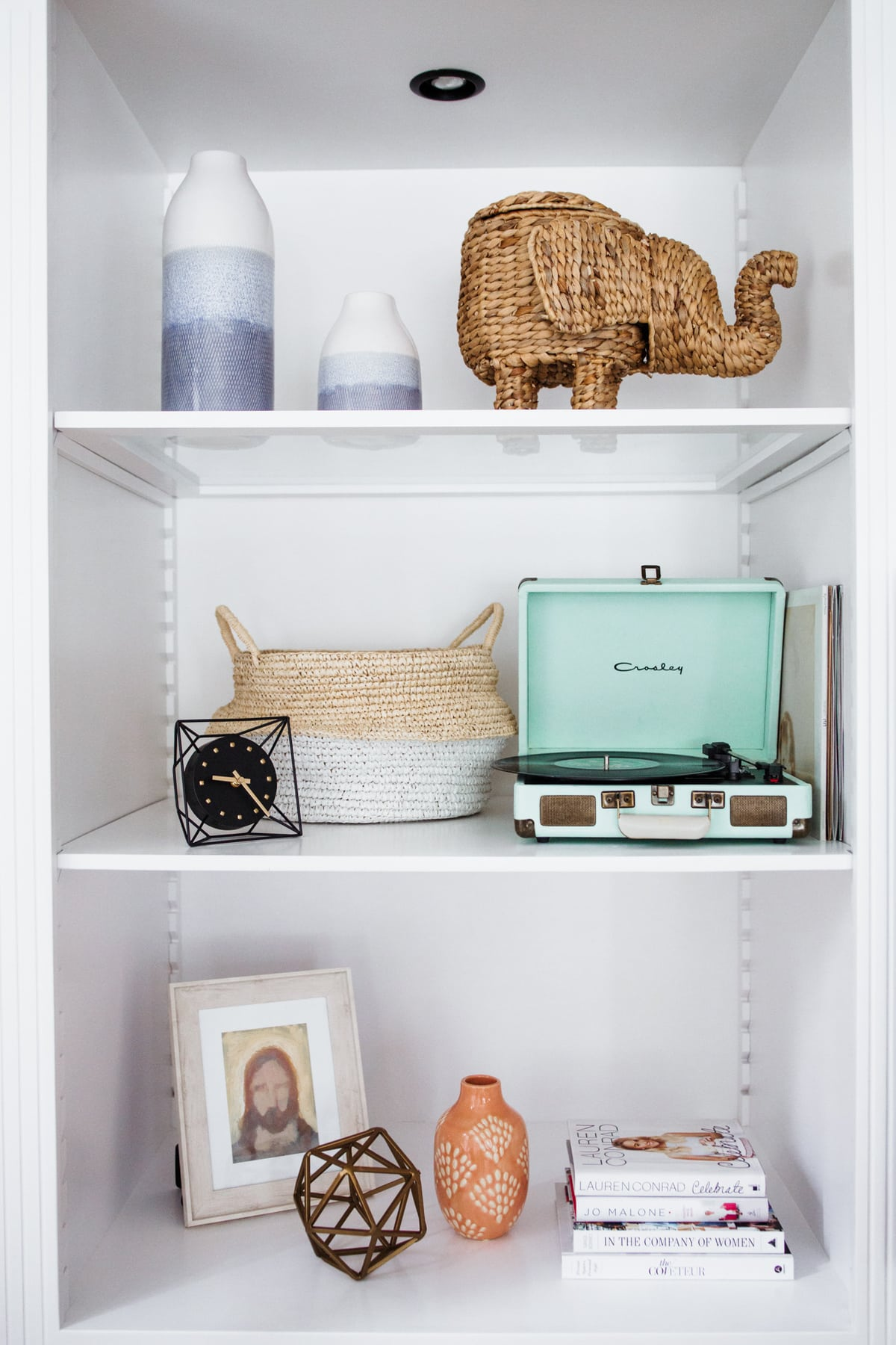 shelf decor