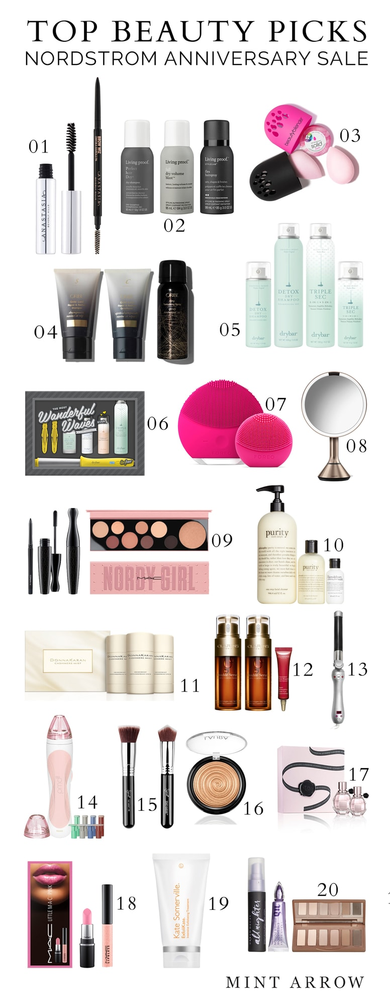 Nordstrom Anniversary Sale beauty top picks