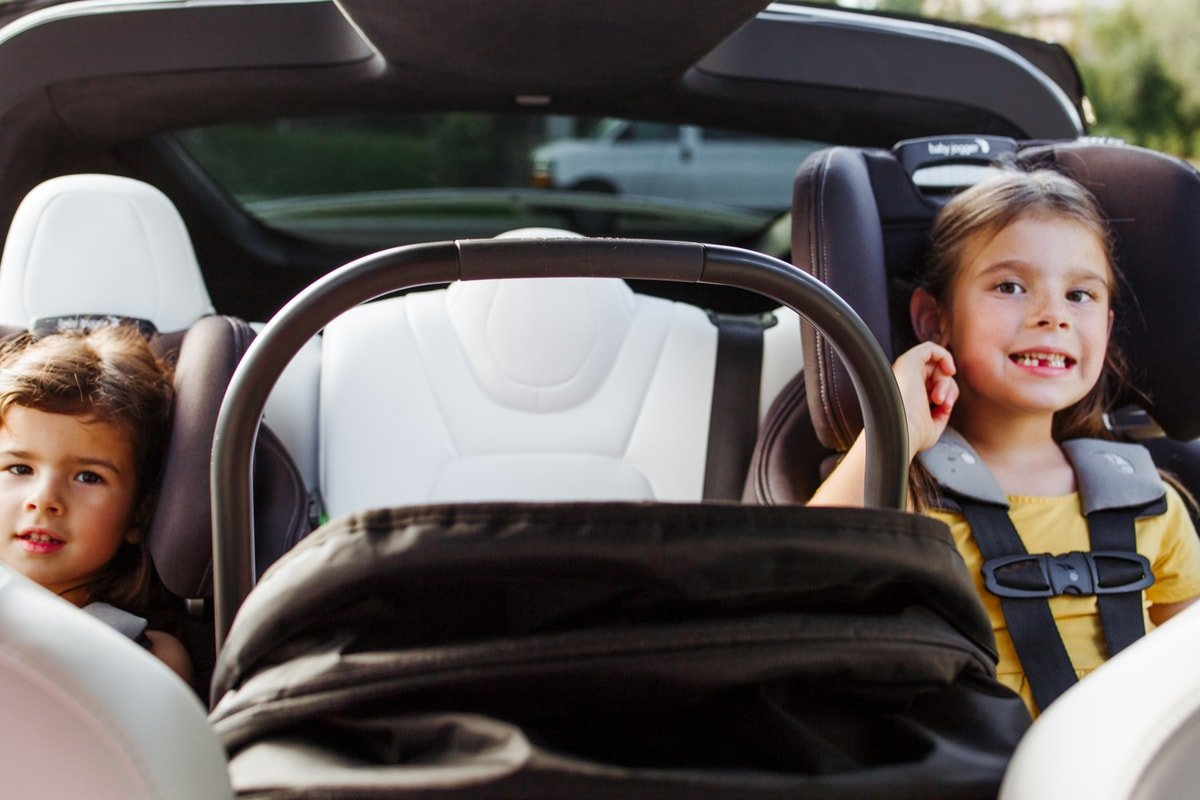 best car seat configuration for three