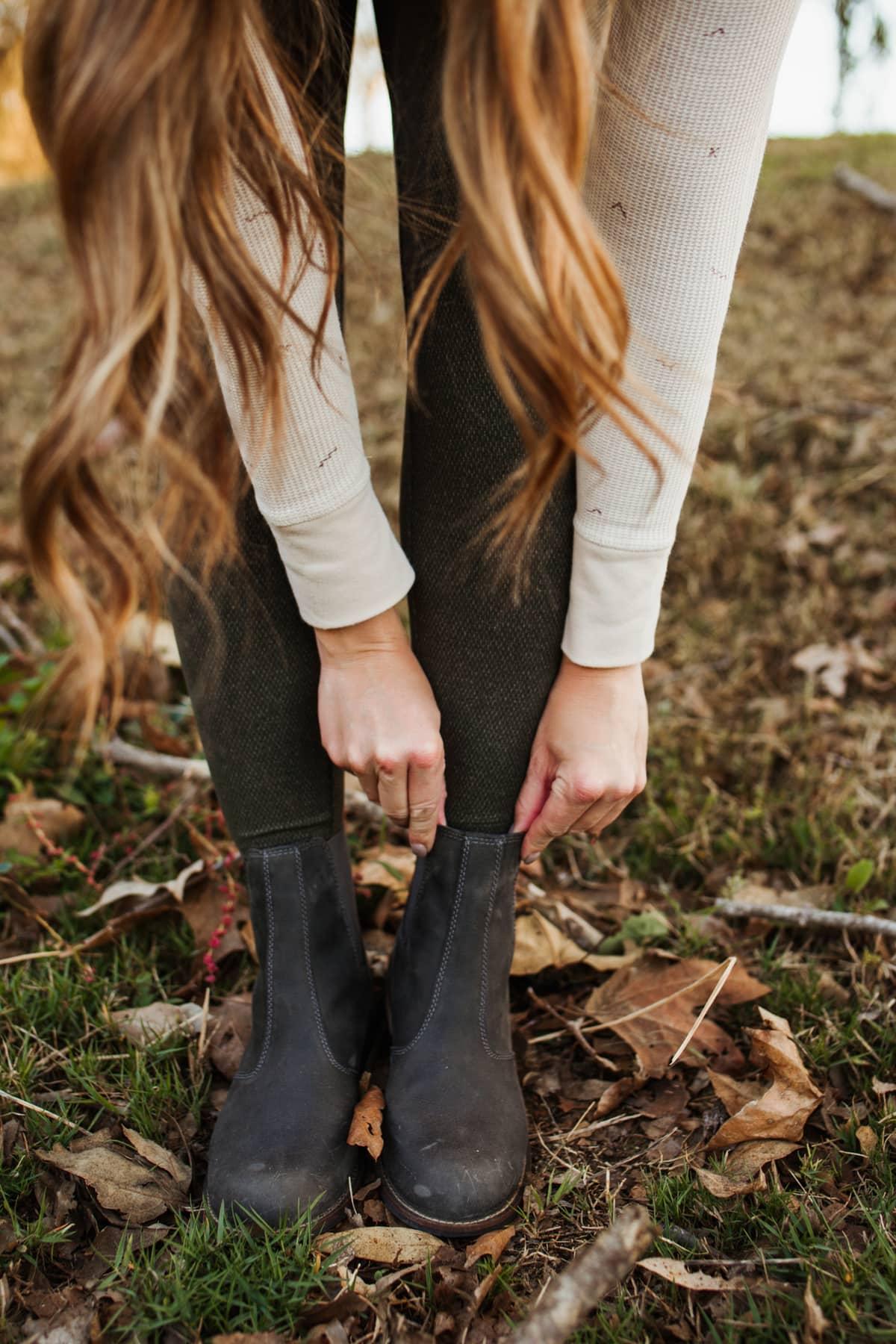 outdoor booties