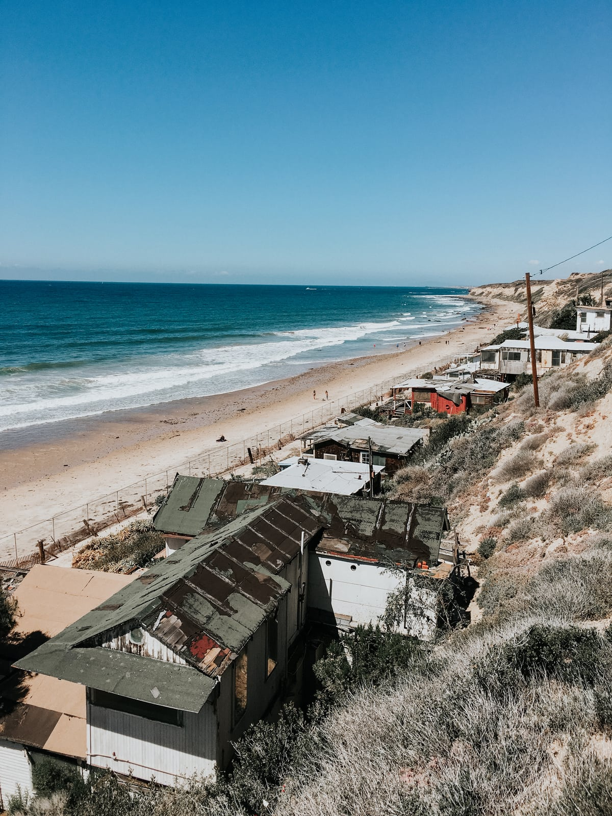 Hidden secret of Orange County - you can rent one of these cottages at Crystal Cove, relatively inexpensive Orange County place to stay