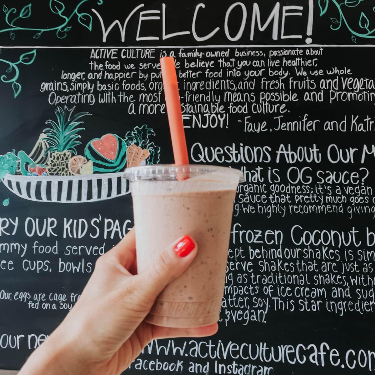 yummy vegan food in Orange County - active culture