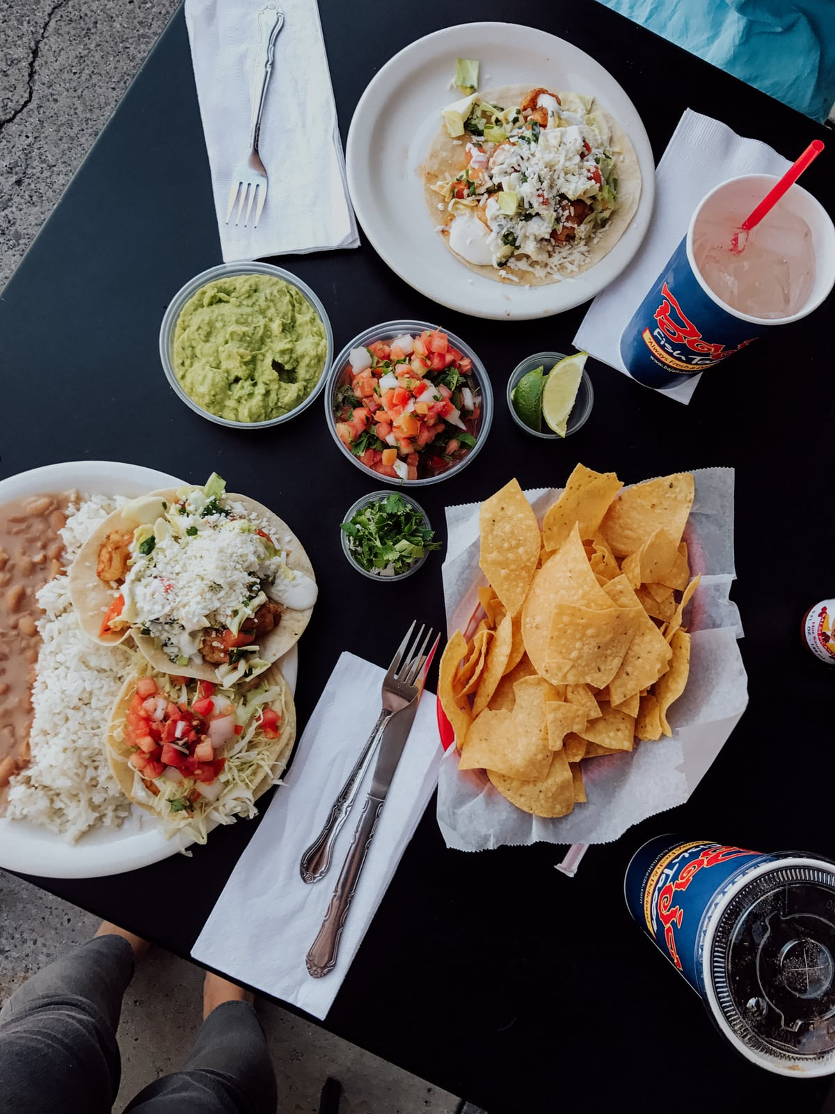 Baja Fish Tacos - our favorite place for shrimp or fish tacos in Orange County