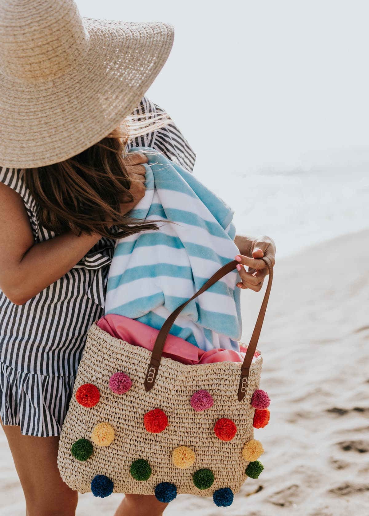 cutest beach bag