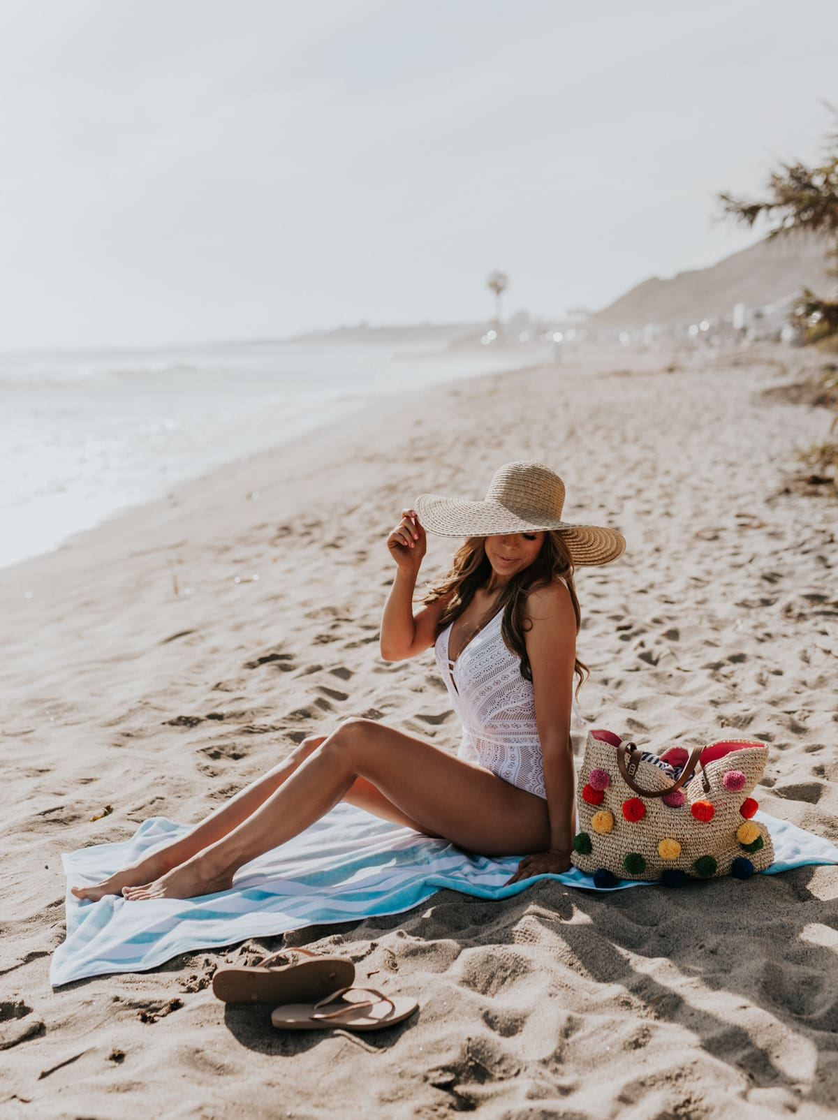 crochet one piece swimsuits nordstrom points