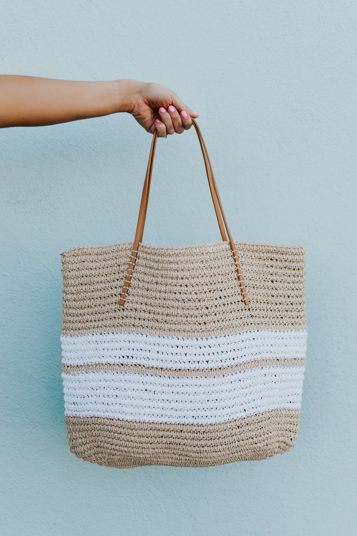 summer trend straw bag