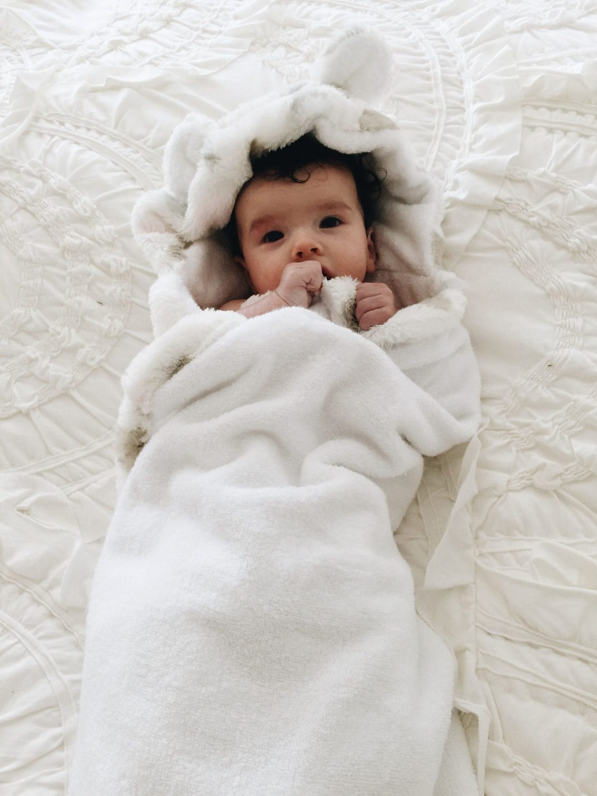 little giraffe baby bath hooded towels