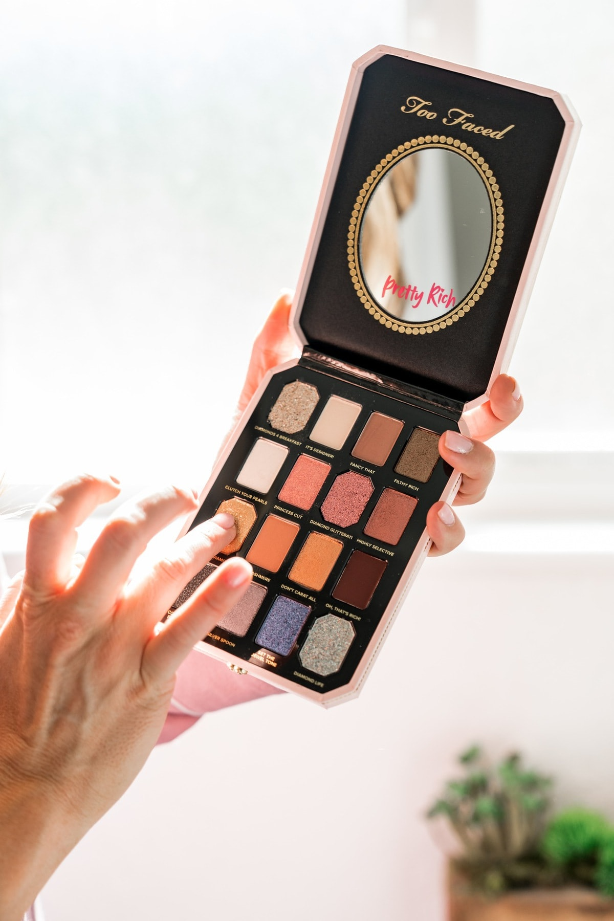 macy's black friday in july too faced pretty rich eyeshadow palette