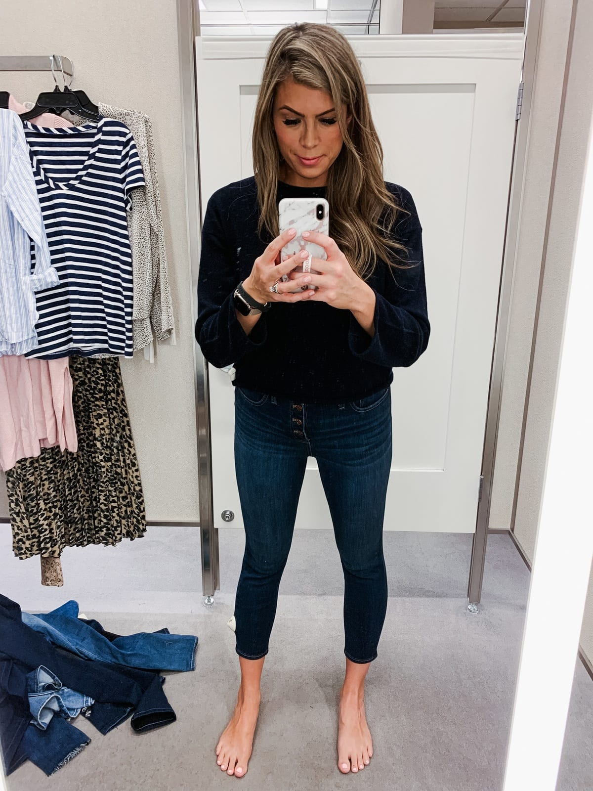 nordstrom jeans madewell cassia