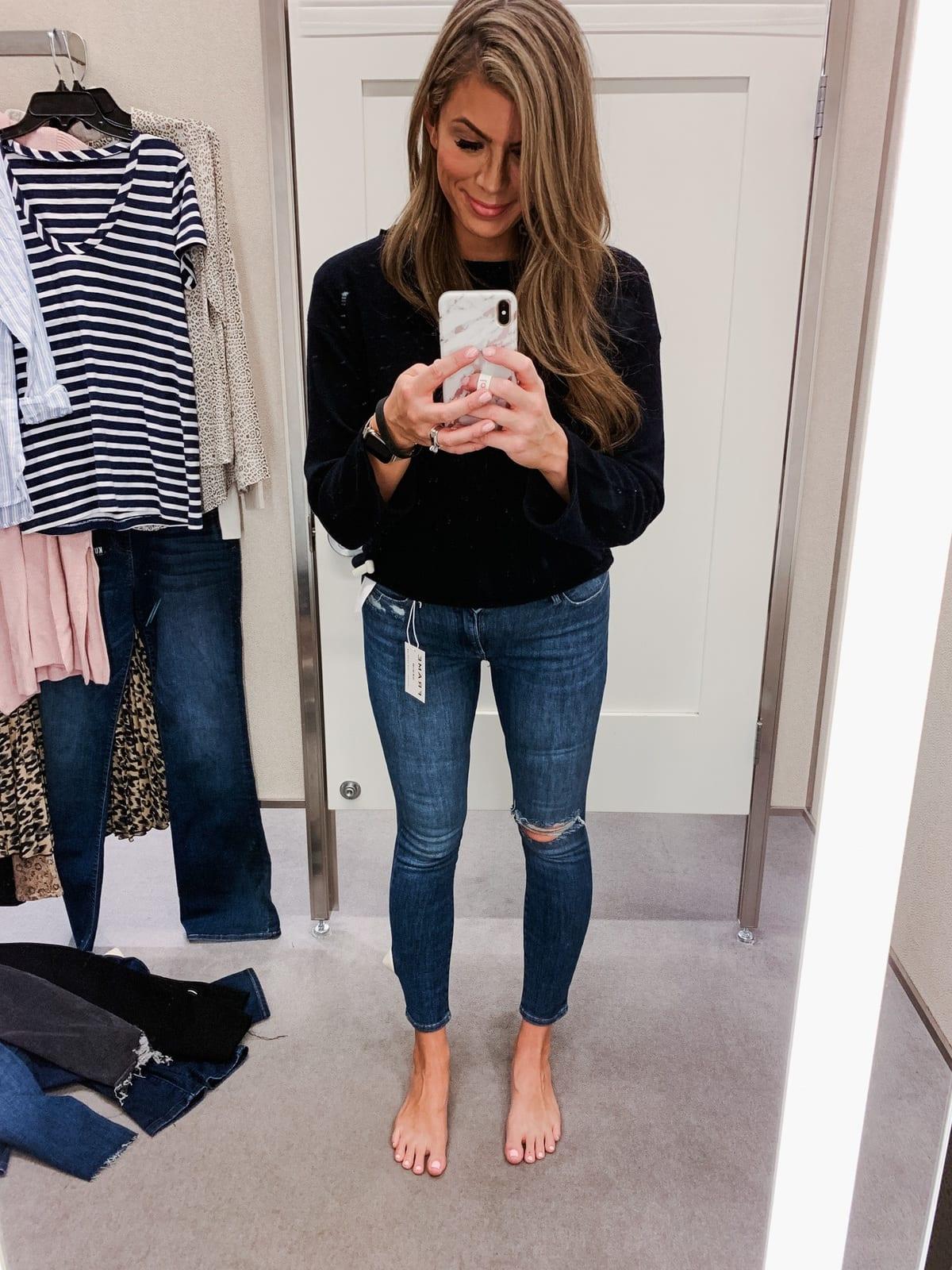 Frame le high skinny jean