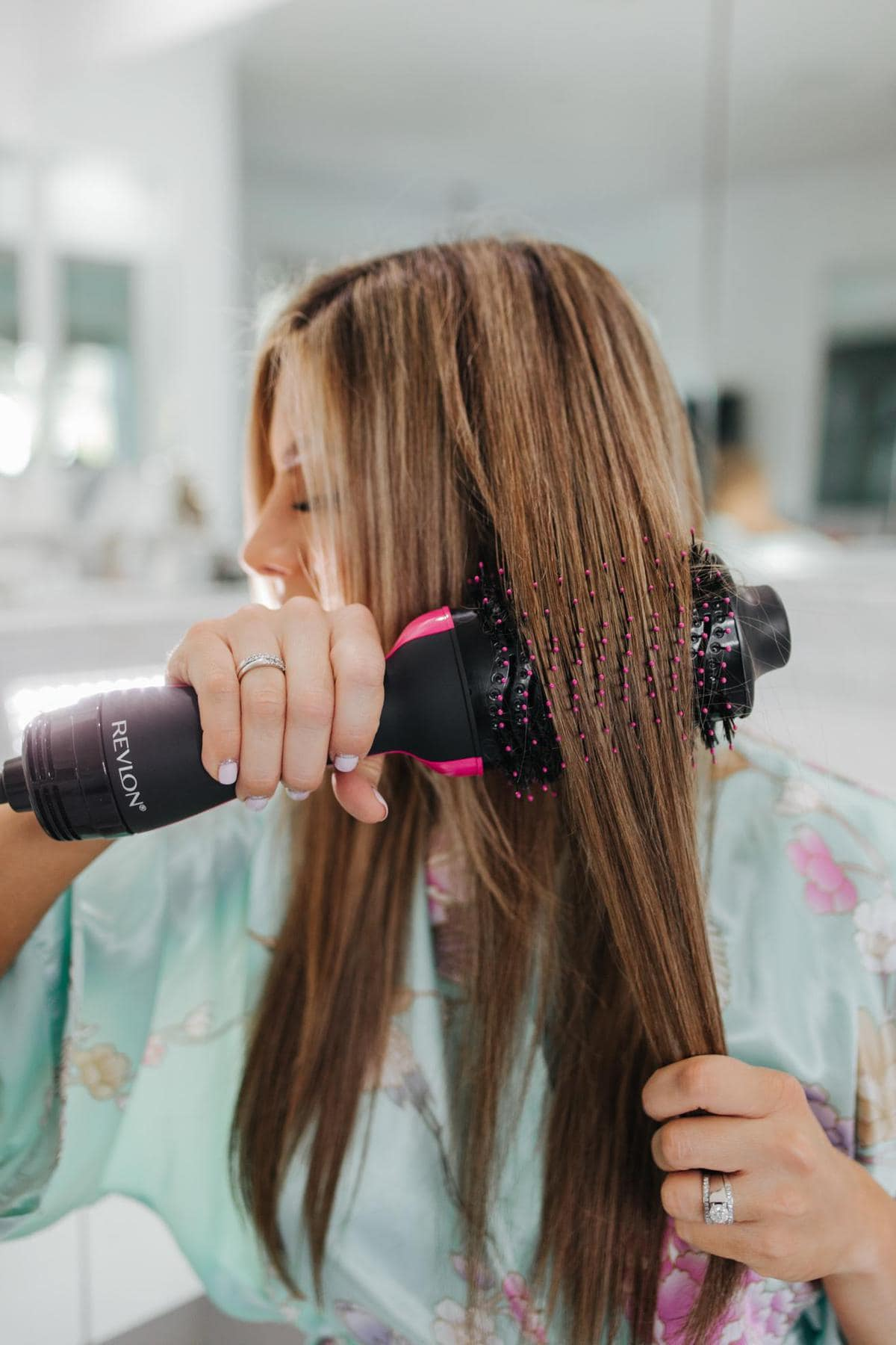 revlon one step hair dryer and volumizer