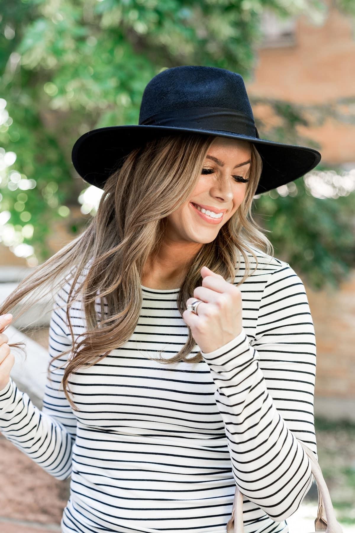 black wool felt hat nordstrom women's clothes